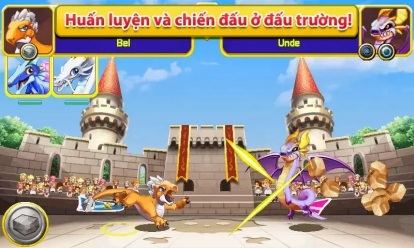 [Game Hack] Dragon Mania Tiếng Việt Hack Full 128x160 By Hieukissyou